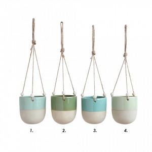 Ghiveci suspendabil din ceramica 10x11 cm Favis Bloomingville