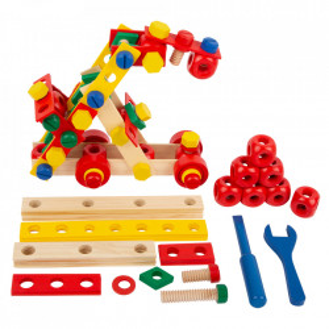 Joc de construit din lemn Nordic Small Foot