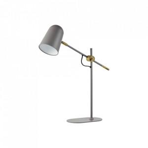 Lampa birou gri/maro alama din metal 45 cm Bureau Grey Bolia