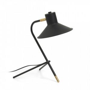 Lampa birou neagra din metal Neimann La Forma