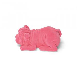 Lampa de veghe roz din rasina Devilisch Bulldog Pink Bold Monkey