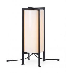 Lampa dimabila alba/neagra din plastic si metal pentru exterior cu LED 54 cm Garden Markslojd