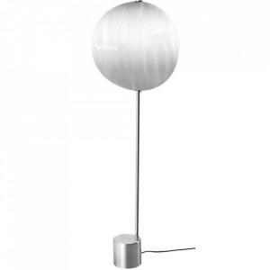 Lampadar argintiu din otel cu LED 103 cm Callas Floor Low Bolia