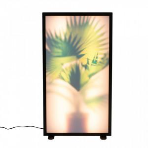 Lampadar multicolor din aluminiu si sticla 80 cm Grow XL Zuiver