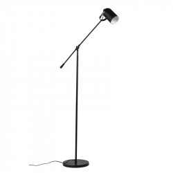 Lampadar negru din metal 150 cm Carbo Black Somcasa