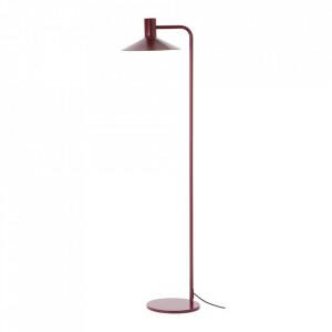 Lampadar rosu din metal 134 cm Minneapolis Frandsen Lighting