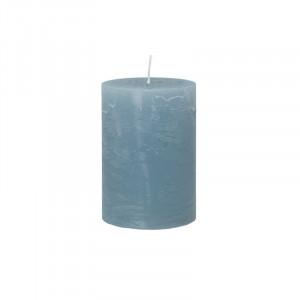 Lumanare albastra din parafina 10 cm Rustic Cozy Living Copenhagen