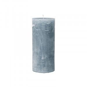 Lumanare albastra din parafina 25 cm Rustic Avi Cozy Living Copenhagen