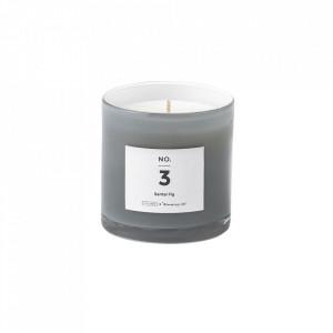 Lumanare parfumata din sticla 8 cm Santal Fig Illume x Bloomingville