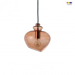 Lustra aramie din sticla Grace Small Frandsen Lighting