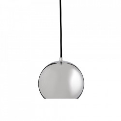 Lustra argintie din metal Ball Metallic Glossy Frandsen Lighting