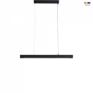 Lustra gri grafit din otel cu LED Line Plus M Custom Form