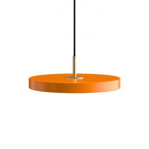 Lustra portocalie/aurie din otel si aluminiu Asteria Mini Umage