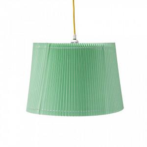 Lustra verde din PVC si bumbac Dina Green Bloomingville