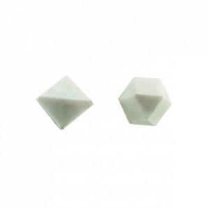 Maner alb din marmura 2,2 cm Cubes House Doctor