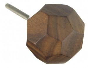 Maner maro din lemn 3,5 cm Diamond Madam Stoltz