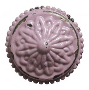 Maner rotund fier roz Knob Nordal