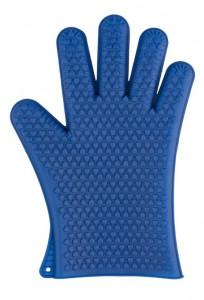 Manusa albastra din silicon pentru bucatarie Oven Glove Dark Wenko