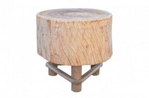 Masa cafea din lemn 79x78cm Butcher's Block Versmissen