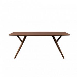 Masa dining lemn de alun 90x180 cm Malaya Dutchbone