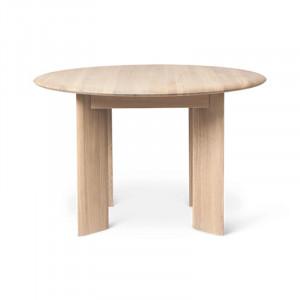 Masa dining maro din lemn 117 cm Bevel Ferm Living