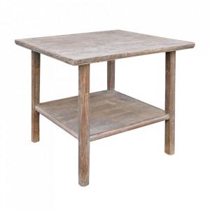 Masa dining maro din lemn de nuc 88x91 cm Shandong Versmissen