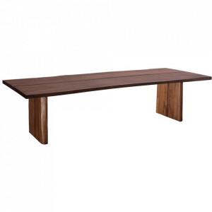 Masa dining maro din lemn de suar 100x240 cm Vexin Denzzo