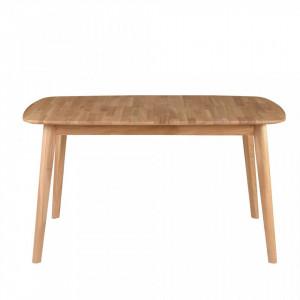 Masa extensibila din lemn de stejar 140(200)x90 cm Percy Zago