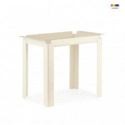 Masuta crem din otel 33x60 cm Box Table Normann Copenhagen