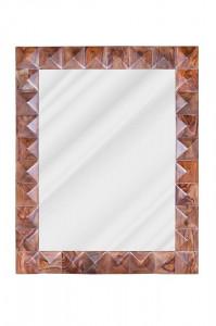 Oglinda dreptunghiulara din lemn si sticla 80x100 cm Agra Giner y Colomer