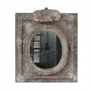 Oglinda dreptunghiulara din polirasina antichizata 50x61 cm Vintage HK Living
