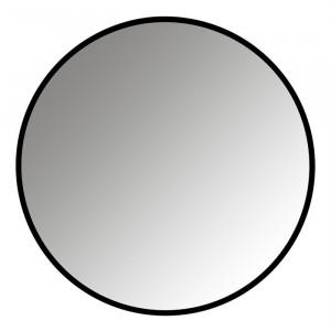 Oglinda rotunda neagra din fier 110 cm Maevy Richmond Interiors