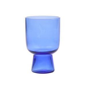 Pahar albastru transparent 12,5 cm Cobalt L HK Living