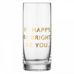 Pahar din sticla 7x16,5 cm Drink Bloomingville