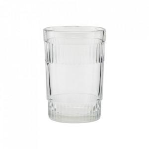 Pahar transparent din sticla 6x9 cm Misty House Doctor