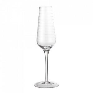 Pahar transparent din sticla pentru sampanie 240 ml Alva Bloomingville