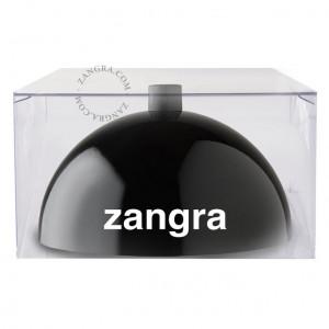 Pavilion metalic rotund negru Zangra