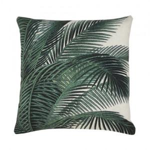 Perna decorativa 45x45 cm Palm Leaves Trees HK Living