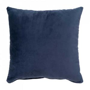 Perna decorativa albastra din catifea 40x40 cm Lido House Nordic