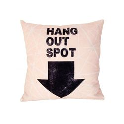 "Perna decorativa bumbac 43x43 cm nature ""Hang out spot"" HK Living"