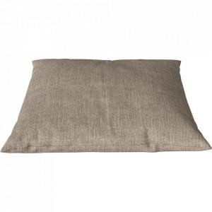 Perna decorativa patrata bej nisipiu din bumbac si in 60x60 cm Classic Pure Bolia