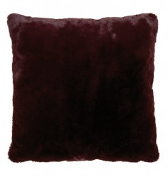 Perna decorativa patrata mov din poliester 50x50 cm Lyall Fur LifeStyle Home Collection
