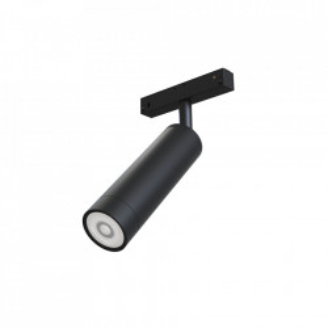 Plafoniera neagra din aluminiu cu LED Focus Line Maytoni