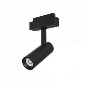 Plafoniera neagra din aluminiu cu LED Focus System Maytoni