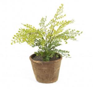Planta artificiala cu ghiveci din teracota 32 cm Adia La Forma