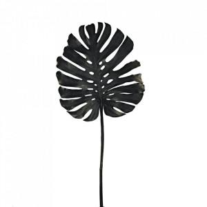 Planta artificiala neagra din fier si plastic 128 cm Monstera Pols Potten
