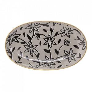 Platou maro din ceramica 13x21,5 cm Hannah Bloomingville
