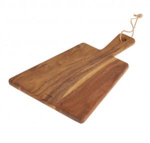 Platou maro din lemn de salcam 25x35 cm Salimah Kave Home