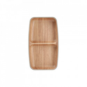 Platou maro din plastic si polistiren pentru aperitive 10x17,5 cm Buffet Aerts