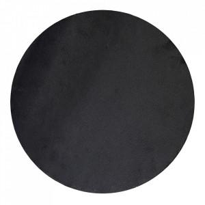 Platou negru din ardezie 35 cm Pizza Bloomingville